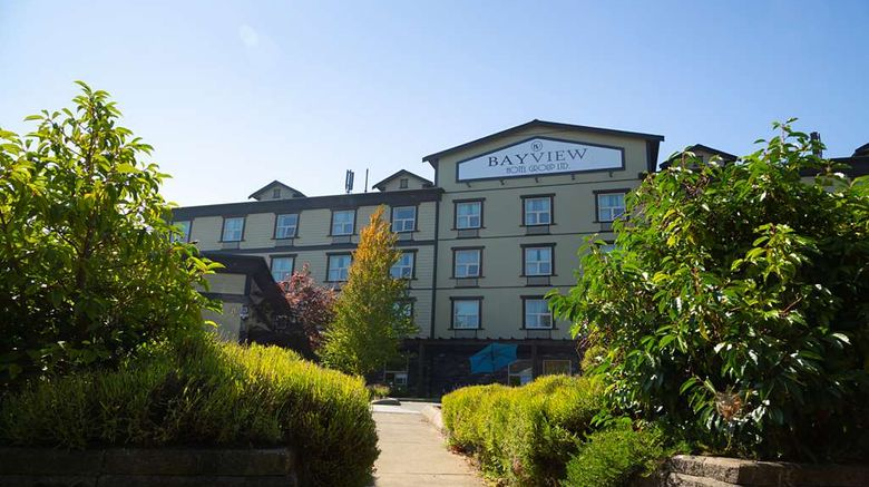 """Bayview Hotel Exterior. Images powered by <a href=""""http://web.iceportal.com"""" target=""""_blank"""" rel=""""noopener"""">Ice Portal</a>."""