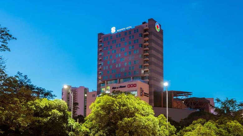 """Sonesta Hotel Bucaramanga Exterior. Images powered by <a href=""""http://web.iceportal.com"""" target=""""_blank"""" rel=""""noopener"""">Ice Portal</a>."""