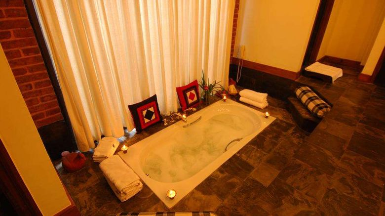 """<b>Dwarika's Hotel Room</b>. Images powered by <a href=""""https://iceportal.shijigroup.com/"""" title=""""IcePortal"""" target=""""_blank"""">IcePortal</a>."""