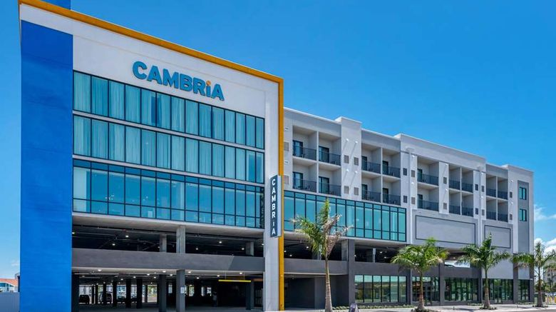 """Cambria Hotel Madeira Beach Marina Exterior. Images powered by <a href=""""http://web.iceportal.com"""" target=""""_blank"""" rel=""""noopener"""">Ice Portal</a>."""