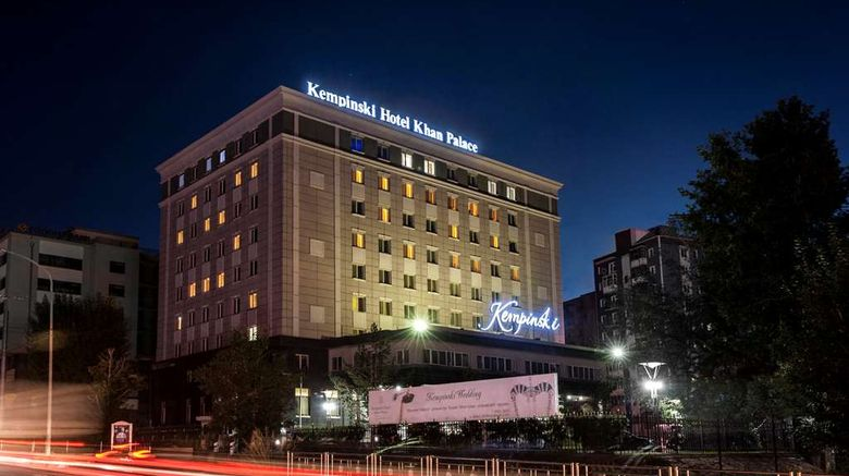 """Kempinski Hotel Khan Palace Exterior. Images powered by <a href=""""http://web.iceportal.com"""" target=""""_blank"""" rel=""""noopener"""">Ice Portal</a>."""