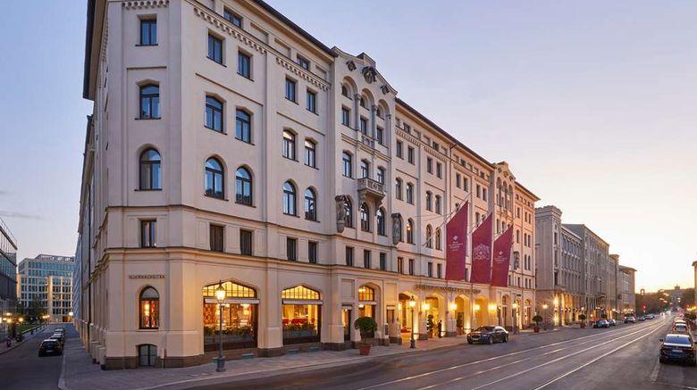"Hotel Vier Jahreszeiten Kempinski Munich Exterior. Images powered by <a href=""http://web.iceportal.com"" target=""_blank"" rel=""noopener"">Ice Portal</a>."