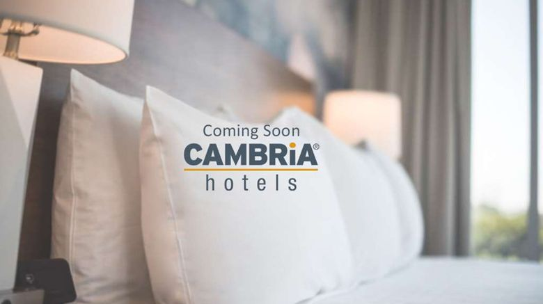 """Cambria Hotel Savannah Downtown Exterior. Images powered by <a href=""""http://web.iceportal.com"""" target=""""_blank"""" rel=""""noopener"""">Ice Portal</a>."""