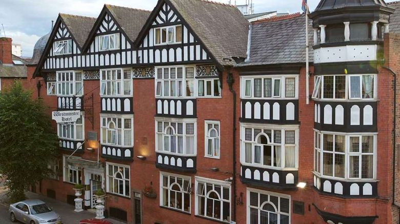 """Chester, Sure Hotel Coll by Best Western Exterior. Images powered by <a href=""""http://web.iceportal.com"""" target=""""_blank"""" rel=""""noopener"""">Ice Portal</a>."""