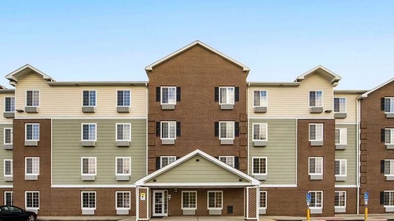 """WoodSpring Suites Akron Exterior. Images powered by <a href=""""http://web.iceportal.com"""" target=""""_blank"""" rel=""""noopener"""">Ice Portal</a>."""