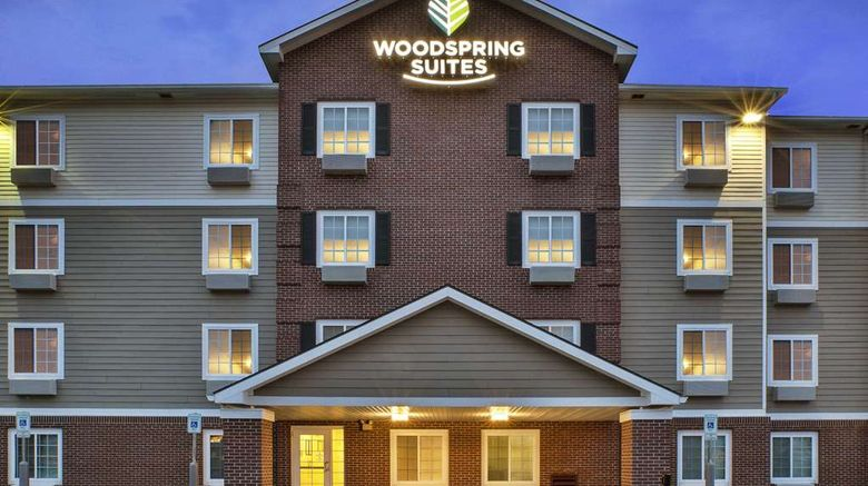 """WoodSpring Suites Grand Rapids Holland Exterior. Images powered by <a href=""""http://web.iceportal.com"""" target=""""_blank"""" rel=""""noopener"""">Ice Portal</a>."""
