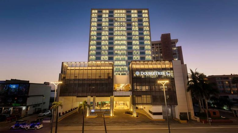 """DoubleTree by Hilton Mazatlan Exterior. Images powered by <a href=""""http://web.iceportal.com"""" target=""""_blank"""" rel=""""noopener"""">Ice Portal</a>."""