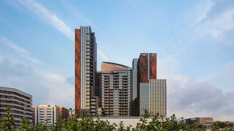 """DoubleTree M Square Hotel  and  Residences Exterior. Images powered by <a href=""""http://web.iceportal.com"""" target=""""_blank"""" rel=""""noopener"""">Ice Portal</a>."""