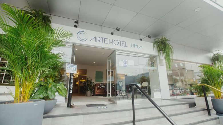 """Arte Hotel Lima Exterior. Images powered by <a href=""""http://web.iceportal.com"""" target=""""_blank"""" rel=""""noopener"""">Ice Portal</a>."""