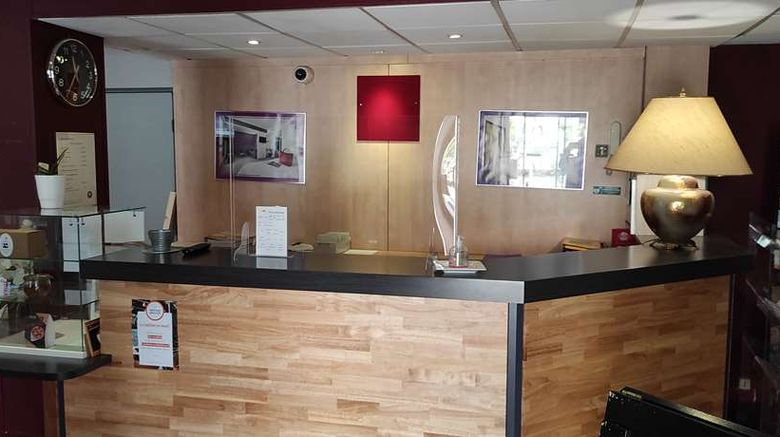"""<b>Hotel The Originals Limoges North Arion Lobby</b>. Images powered by <a href=""""https://iceportal.shijigroup.com/"""" title=""""IcePortal"""" target=""""_blank"""">IcePortal</a>."""