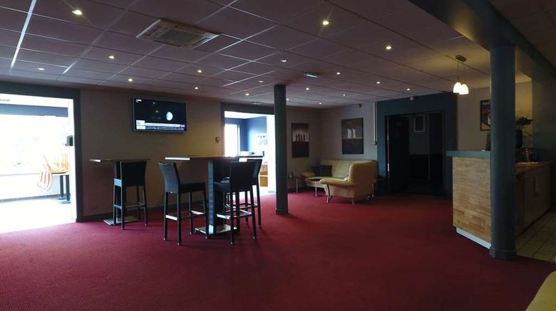 """<b>Hotel The Originals Limoges North Arion Restaurant</b>. Images powered by <a href=""""https://iceportal.shijigroup.com/"""" title=""""IcePortal"""" target=""""_blank"""">IcePortal</a>."""