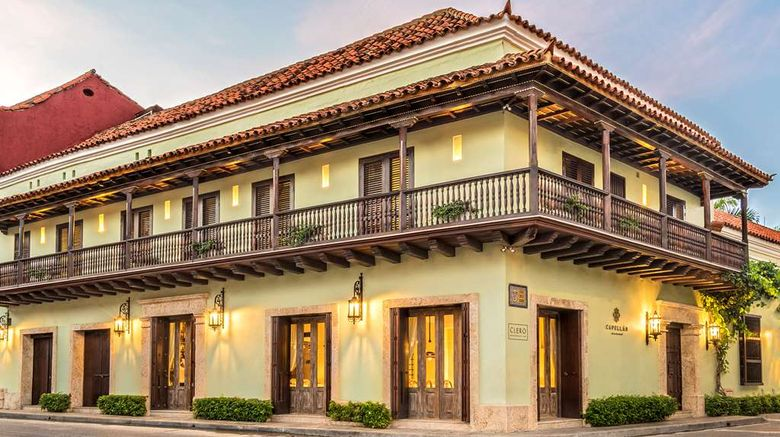 """Hotel Capellan de Getsemani Exterior. Images powered by <a href=""""http://web.iceportal.com"""" target=""""_blank"""" rel=""""noopener"""">Ice Portal</a>."""
