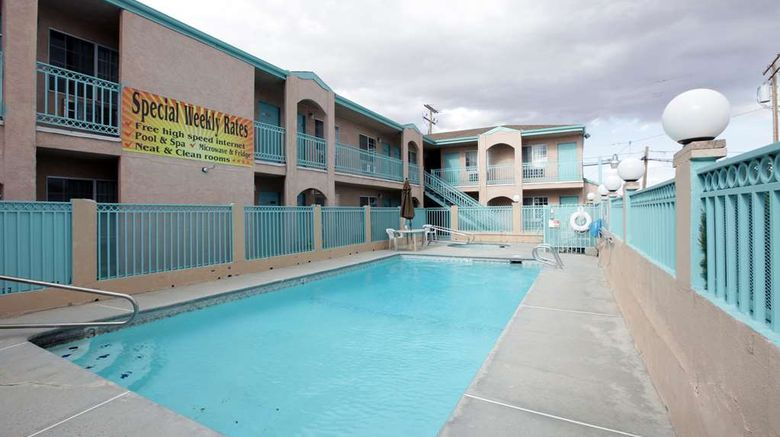 """<b>Americas Best Value Inn Pool</b>. Images powered by <a href=""""https://iceportal.shijigroup.com/"""" title=""""IcePortal"""" target=""""_blank"""">IcePortal</a>."""