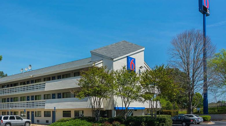 """Motel 6 Atlanta Tucker Northeast Exterior. Images powered by <a href=""""http://web.iceportal.com"""" target=""""_blank"""" rel=""""noopener"""">Ice Portal</a>."""