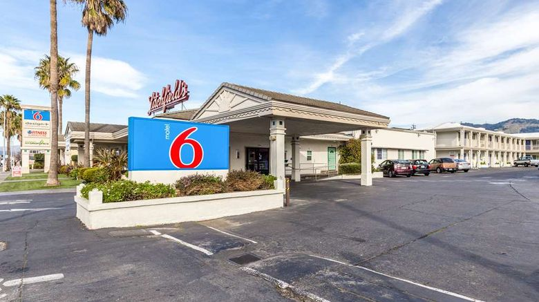 """Motel 6 San Rafael Exterior. Images powered by <a href=""""http://web.iceportal.com"""" target=""""_blank"""" rel=""""noopener"""">Ice Portal</a>."""