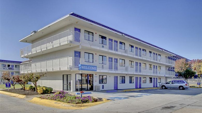 """Motel 6 Washington DC Exterior. Images powered by <a href=""""http://web.iceportal.com"""" target=""""_blank"""" rel=""""noopener"""">Ice Portal</a>."""