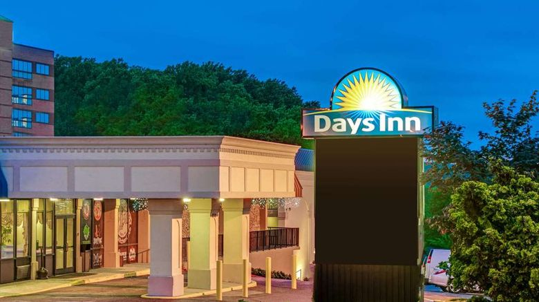 """Days Inn Towson Exterior. Images powered by <a href=""""http://web.iceportal.com"""" target=""""_blank"""" rel=""""noopener"""">Ice Portal</a>."""
