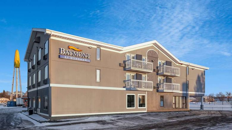 """Baymont by Wyndham Rochester Mayo Clinic Area Exterior. Images powered by <a href=""""http://web.iceportal.com"""" target=""""_blank"""" rel=""""noopener"""">Ice Portal</a>."""