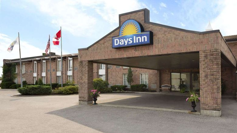 """Days Inn Brantford Exterior. Images powered by <a href=""""http://web.iceportal.com"""" target=""""_blank"""" rel=""""noopener"""">Ice Portal</a>."""