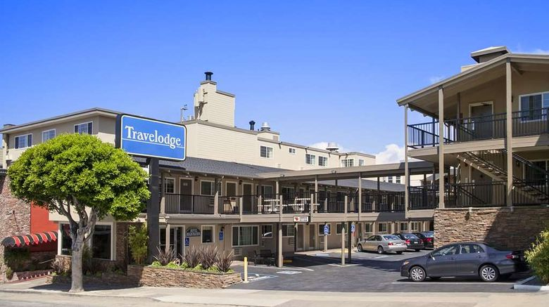 """Travelodge by the Bay Exterior. Images powered by <a href=""""http://web.iceportal.com"""" target=""""_blank"""" rel=""""noopener"""">Ice Portal</a>."""