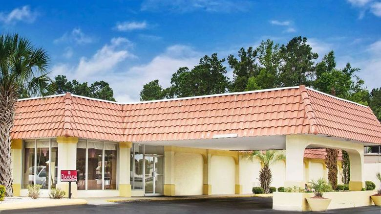 """Ramada Walterboro Exterior. Images powered by <a href=""""http://web.iceportal.com"""" target=""""_blank"""" rel=""""noopener"""">Ice Portal</a>."""