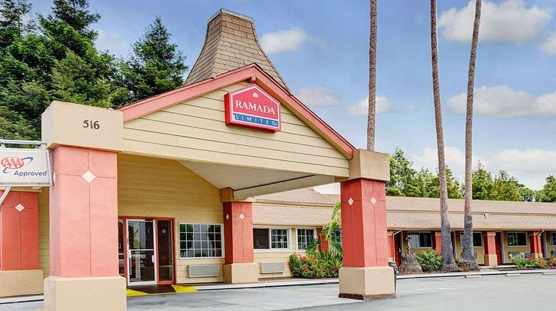 """Ramada Limited Santa Cruz Exterior. Images powered by <a href=""""http://web.iceportal.com"""" target=""""_blank"""" rel=""""noopener"""">Ice Portal</a>."""