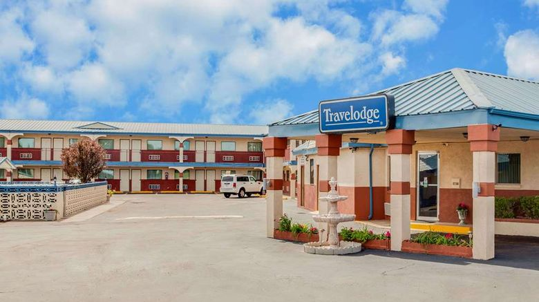 """Travelodge Memphis Exterior. Images powered by <a href=""""http://web.iceportal.com"""" target=""""_blank"""" rel=""""noopener"""">Ice Portal</a>."""