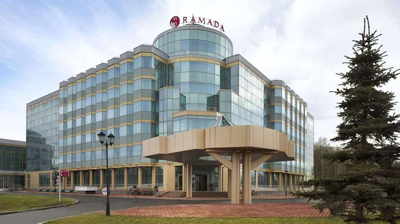 """Ramada Yekaterinburg Exterior. Images powered by <a href=""""http://web.iceportal.com"""" target=""""_blank"""" rel=""""noopener"""">Ice Portal</a>."""