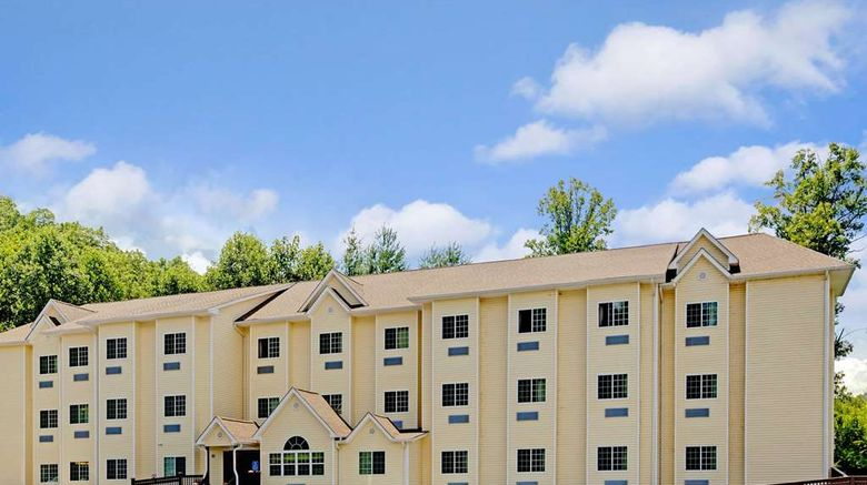 """Microtel Inn  and  Suites Bryson City Exterior. Images powered by <a href=""""http://web.iceportal.com"""" target=""""_blank"""" rel=""""noopener"""">Ice Portal</a>."""