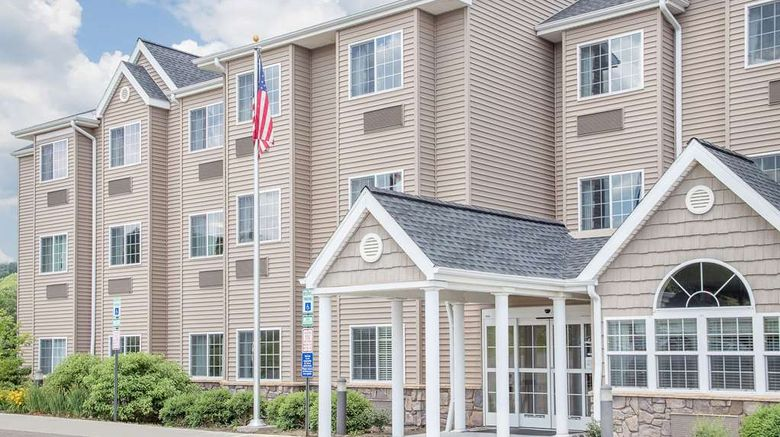 """Microtel Inn  and  Suites Mansfield Exterior. Images powered by <a href=""""http://web.iceportal.com"""" target=""""_blank"""" rel=""""noopener"""">Ice Portal</a>."""