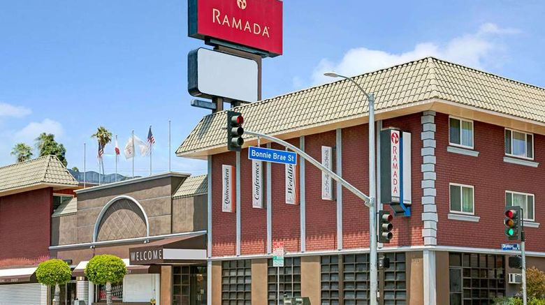 """Ramada Los Angeles/Downtown West Exterior. Images powered by <a href=""""http://web.iceportal.com"""" target=""""_blank"""" rel=""""noopener"""">Ice Portal</a>."""
