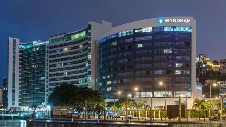 """Wyndham Guayaquil Exterior. Images powered by <a href=""""http://web.iceportal.com"""" target=""""_blank"""" rel=""""noopener"""">Ice Portal</a>."""