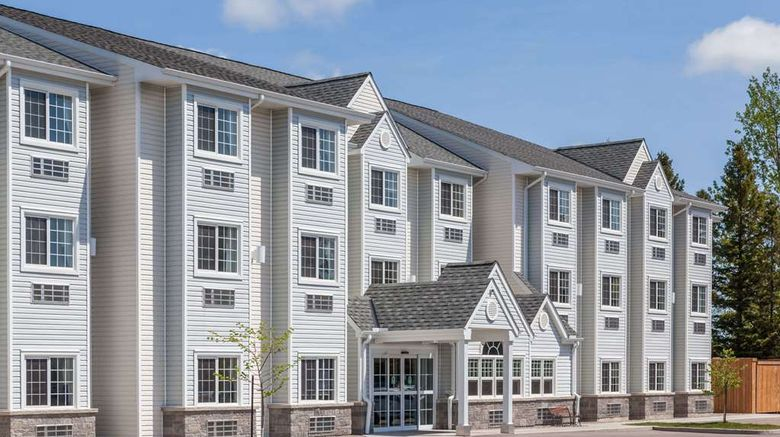 """Microtel Inn  and  Suites by Wyndham Exterior. Images powered by <a href=""""http://web.iceportal.com"""" target=""""_blank"""" rel=""""noopener"""">Ice Portal</a>."""