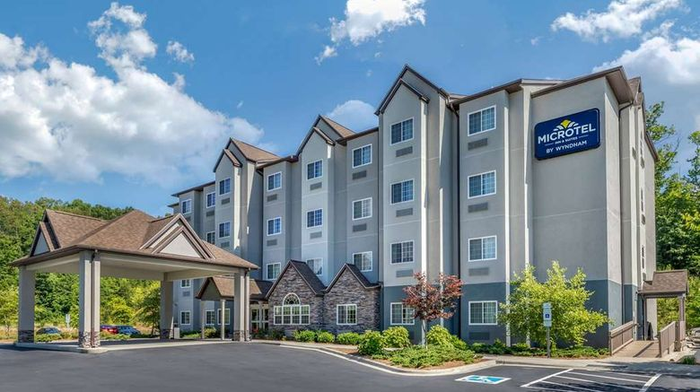 """Microtel Inn  and  Suites Dillsboro/Sylva Exterior. Images powered by <a href=""""http://web.iceportal.com"""" target=""""_blank"""" rel=""""noopener"""">Ice Portal</a>."""