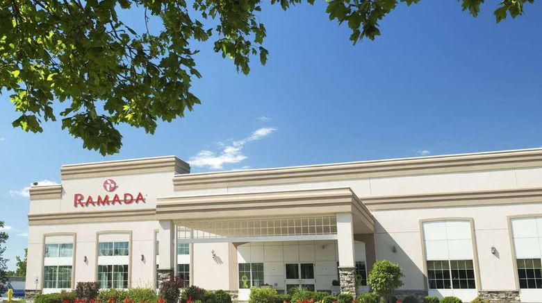 """Ramada Trenton Hotel Exterior. Images powered by <a href=""""http://web.iceportal.com"""" target=""""_blank"""" rel=""""noopener"""">Ice Portal</a>."""