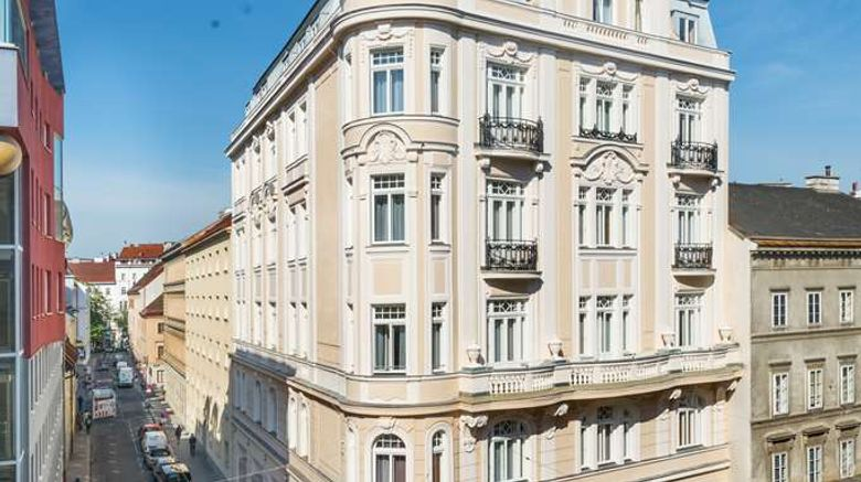 """Hotel Johann Strauss Exterior. Images powered by <a href=""""http://web.iceportal.com"""" target=""""_blank"""" rel=""""noopener"""">Ice Portal</a>."""