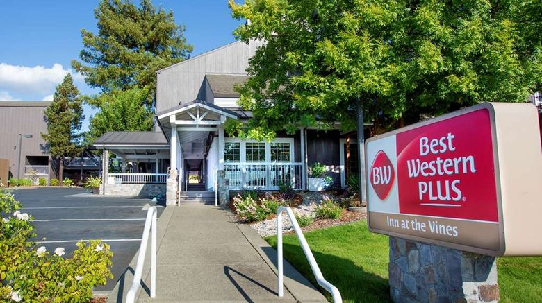 """Best Western Plus Inn at the Vines Exterior. Images powered by <a href=""""http://web.iceportal.com"""" target=""""_blank"""" rel=""""noopener"""">Ice Portal</a>."""