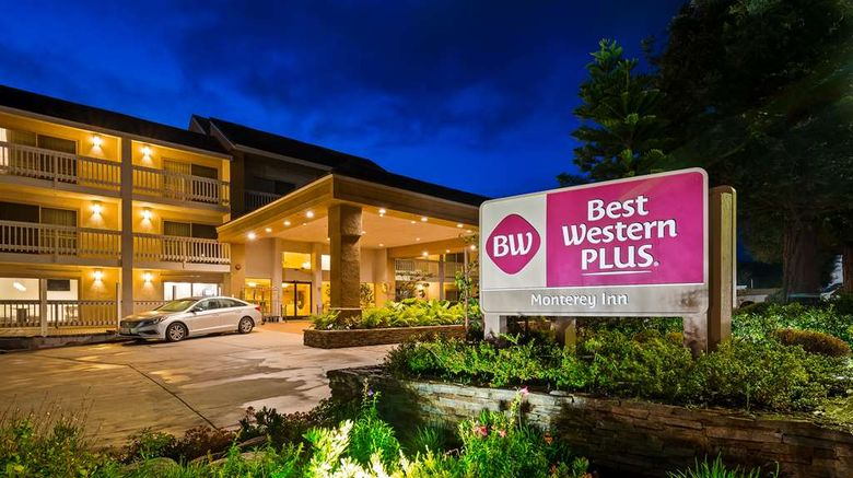 """Best Western Plus Monterey Inn Exterior. Images powered by <a href=""""http://web.iceportal.com"""" target=""""_blank"""" rel=""""noopener"""">Ice Portal</a>."""