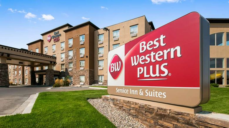 """Best Western Plus Service Inn  and  Suites Exterior. Images powered by <a href=""""http://web.iceportal.com"""" target=""""_blank"""" rel=""""noopener"""">Ice Portal</a>."""