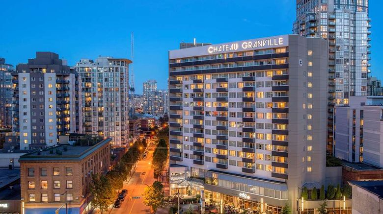 """Best Western Premier Chateau Granville Exterior. Images powered by <a href=""""http://web.iceportal.com"""" target=""""_blank"""" rel=""""noopener"""">Ice Portal</a>."""