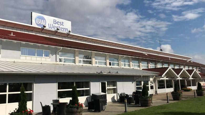 """Best Western Hotell Ljungby Exterior. Images powered by <a href=""""http://web.iceportal.com"""" target=""""_blank"""" rel=""""noopener"""">Ice Portal</a>."""