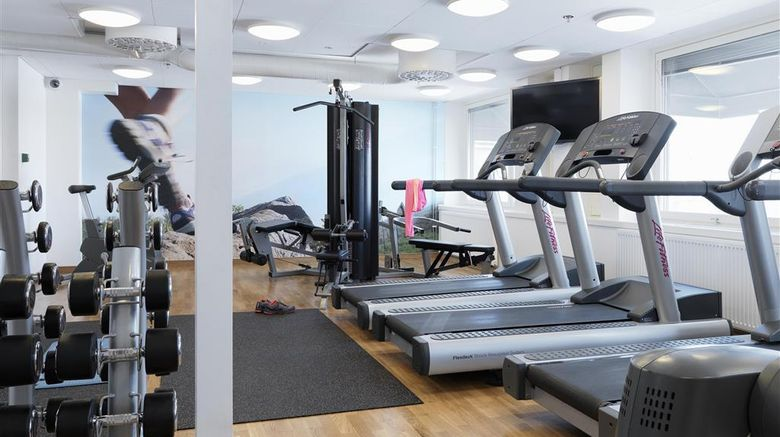 """<b>Scandic Hotel Rubinen Health</b>. Images powered by <a href=""""https://iceportal.shijigroup.com/"""" title=""""IcePortal"""" target=""""_blank"""">IcePortal</a>."""