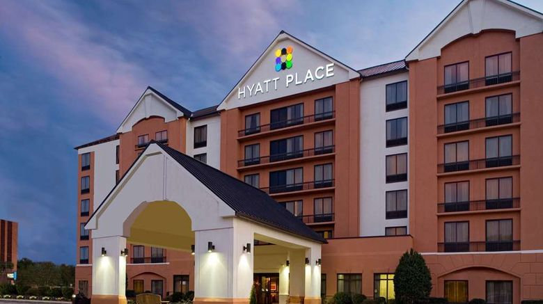 """Hyatt Place Colorado Springs Exterior. Images powered by <a href=""""http://web.iceportal.com"""" target=""""_blank"""" rel=""""noopener"""">Ice Portal</a>."""
