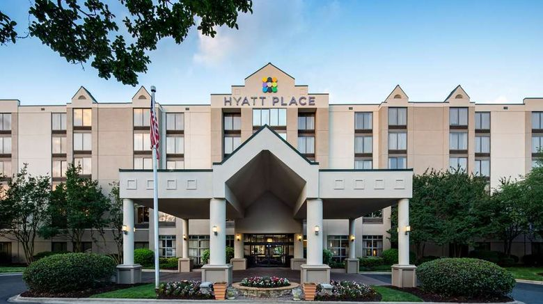 """Hyatt Place Greenville Haywood Exterior. Images powered by <a href=""""http://web.iceportal.com"""" target=""""_blank"""" rel=""""noopener"""">Ice Portal</a>."""