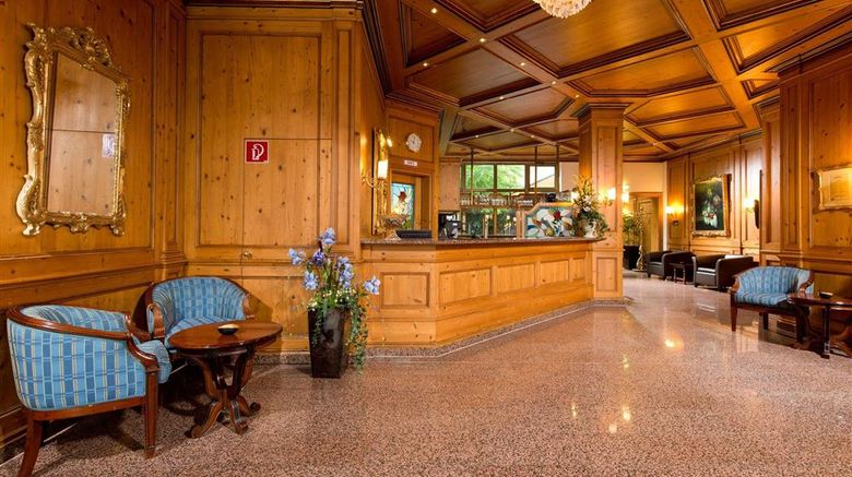 """Kings Center Hotel Lobby. Images powered by <a href=""""http://web.iceportal.com"""" target=""""_blank"""" rel=""""noopener"""">Ice Portal</a>."""