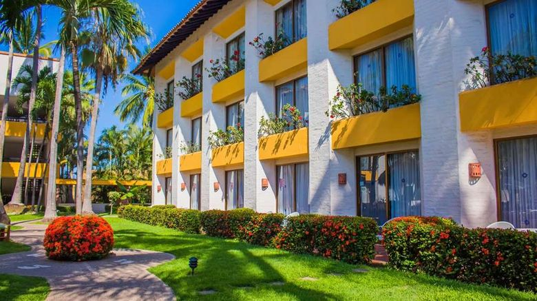 """Plaza Pelicanos Club Beach Resort Exterior. Images powered by <a href=""""http://web.iceportal.com"""" target=""""_blank"""" rel=""""noopener"""">Ice Portal</a>."""