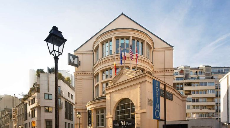 """Hotel Le M Paris Exterior. Images powered by <a href=""""http://web.iceportal.com"""" target=""""_blank"""" rel=""""noopener"""">Ice Portal</a>."""