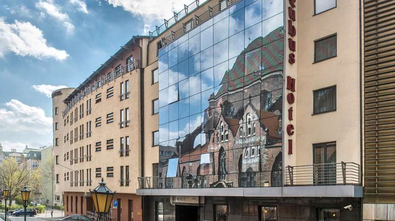 """Qubus Hotel Wroclaw Exterior. Images powered by <a href=""""http://web.iceportal.com"""" target=""""_blank"""" rel=""""noopener"""">Ice Portal</a>."""