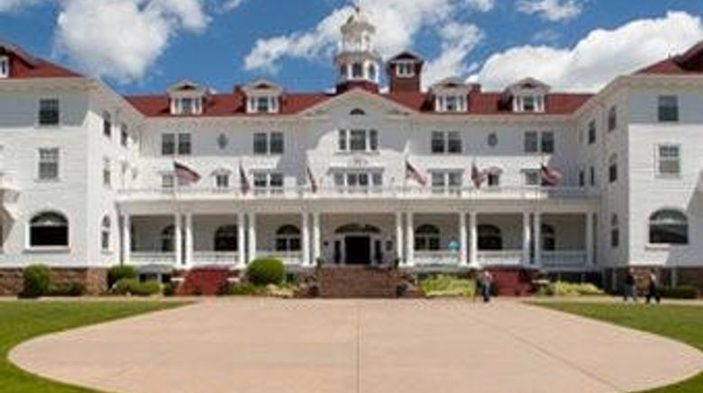 """The Stanley Hotel Exterior. Images powered by <a href=""""http://web.iceportal.com"""" target=""""_blank"""" rel=""""noopener"""">Ice Portal</a>."""