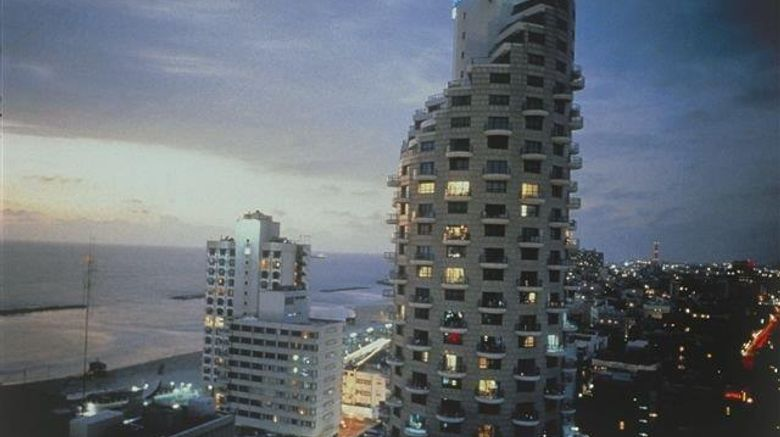 """Isrotel Tower Tel Aviv Hotel Exterior. Images powered by <a href=""""http://web.iceportal.com"""" target=""""_blank"""" rel=""""noopener"""">Ice Portal</a>."""